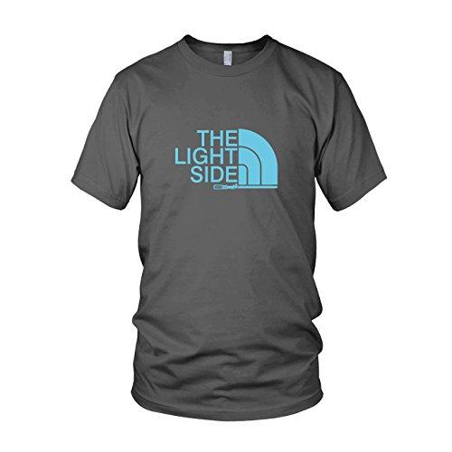 The Light Side - Herren T-Shirt, Größe: L, Farbe: (Kostüm R2d2 Ideen)