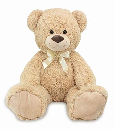 Lifestyle & More Riesen Teddybär Kuschelbär XXL 100 cm groß Plüschbär Kuscheltier samtig weich - zum liebhaben (Extra Großer Teddybär)