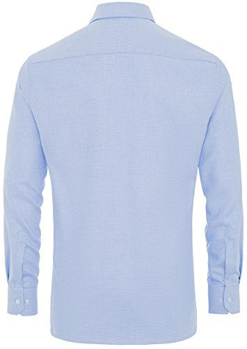 eterna -  Camicia classiche  - Basic - Classico  - Uomo Blu