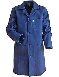 Blouse Bleue De Mécanicien 100% Coton