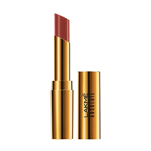 Lakmé Absolute Argan Oil Lip Color, Buttery Caramel, 3.4g