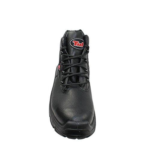 TuF berufsschuhe businessschuhe s3 sRC chaussures de chaussures de sécurité chaussures de travail noir Noir - Noir