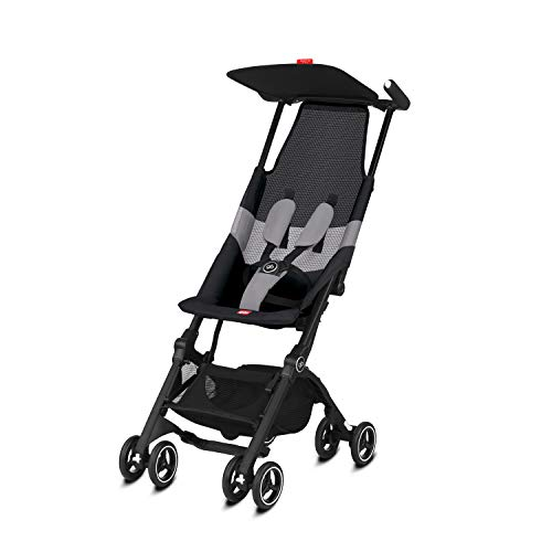 Gb Gold Pockit Air All Terrain - Silla de Paseo, Ultracompacta, De 6 Meses a 4 años, 17 kg, Velvet Black