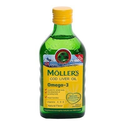 Moller's Fish Oil OMEGA-3 -NATURAL- Baby Children Adults Liquid Fish Oil Omega 3