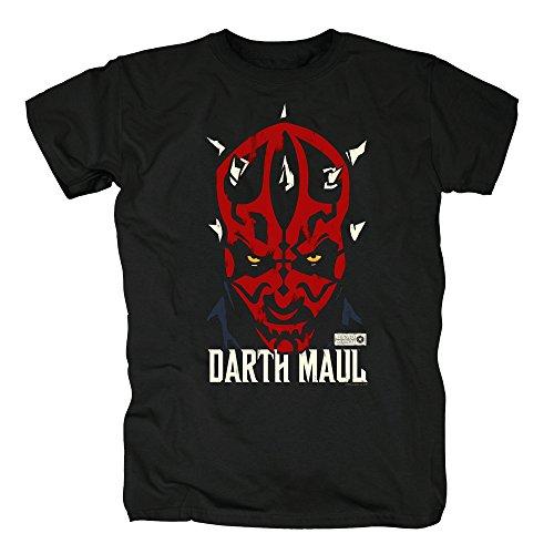 TSP Star Wars - Darth Maul T-Shirt Herren S Schwarz (Darth Shirt Maul)