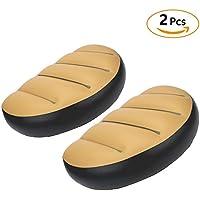 Dilwe 2pcs PVC Pad baño hinchable Cojín de asiento barco barco balsa Cómodo Rest accesorios para camping Pesca Remar