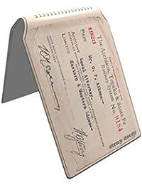 Stray Decor (Vintage Train Ticket) Étui à Cartes / Porte-Cartes pour Titres de Transport, Passe d'autobus, Cartes de Crédit, Navigo Pass, Passe Navigo et Moneo