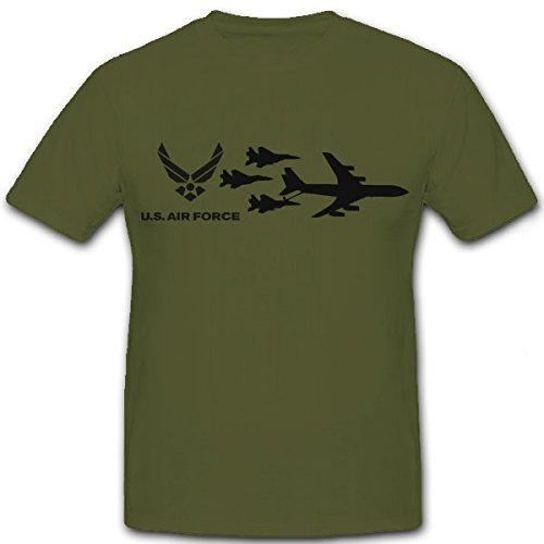 us-air-force-avion-americain-bomber-kampfflugzeug-aviateur-luftstreitkraft-etats-unis-damerique-t-t-