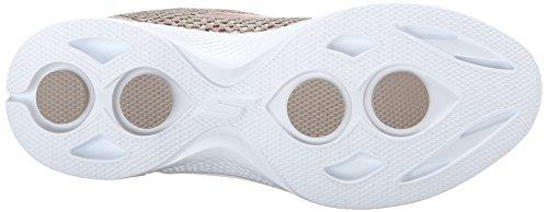 Skechers Gowalk 4 Exceed, Baskets Basses Femme Beige (Tpcl)