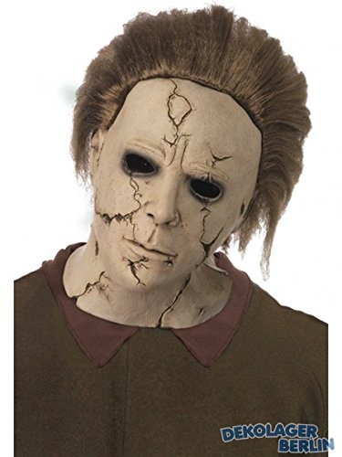 Original Lizenz Michael Myers Halloweenmaske für Herren Halloween Gruselmaske Herrenmaske Horror