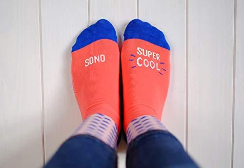 """Preisvergleich Produktbild UO""""Sono Super Cool Coralli Socken Baumwolle 39-42"""