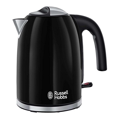 Russell Hobbs Colour Plus Kettle 20413, 3000 W, 1.7 L - Black Best Price and Cheapest
