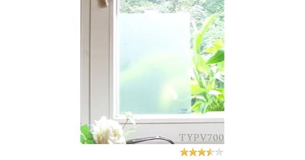 1 meter 100cm Fensterfolie satinierender Sichtschutz