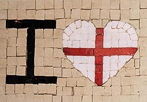 Trois petits points Juego de 3 pequeños Puntos de Mosaico Completo M Love England-Maxi, 6192459601021, Universal