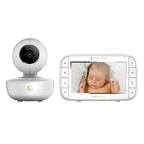 Moniteur bébé Vidéo avec écran 5 Pouces et Caméra Portable MBP55