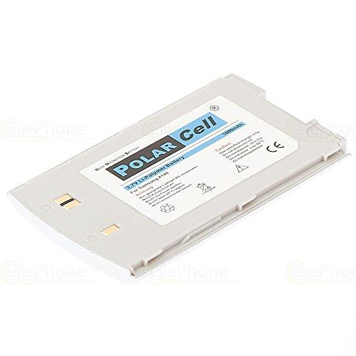 cellePhone PolarCell Akku Li-Polymer für Samsung SGH-X140 - silber ( ersetzt BST4278 )