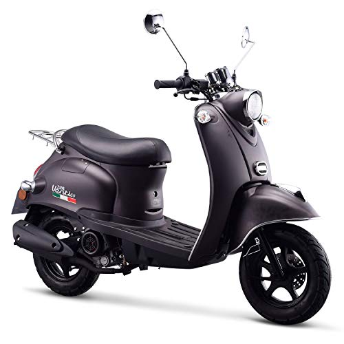 Preisvergleich Produktbild iVA Motorroller Venti 50 CCM Euro-4-Norm 25km / h Mattschwarz
