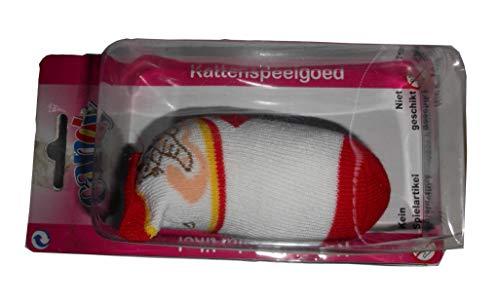CANDY PETS 2 x 1 Socken mit Glöckchen, 5 x 10 cm, 2 CH