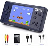 Handheld Game Console for Kids Adults, JJFUN RS-1 PLUS Portable Classic Game Consoles