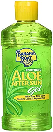 Banana Boat Soothing Aloe After Sun Gel for Unisex, 8 oz