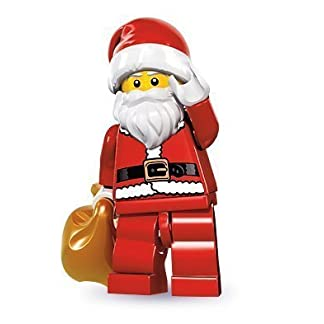 LEGO®minif igures Series 8 – Santa Toy (English Manual)