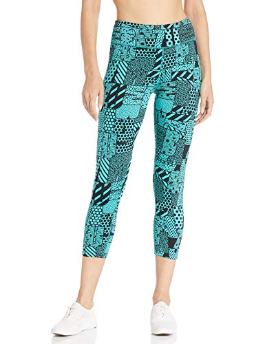 a4815432fe4ea Zumba Fitness® Wide Waistband Dance Fitness Compression Fit Print Capri  Workout Leggings For Women Legging