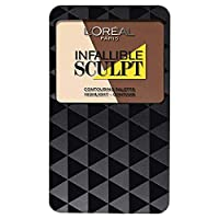 L'Oreal Paris Infallible Sculpt Contour Palette, Medium/Dark 10 g