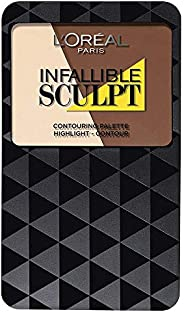 L'Oreal Paris Infallible Sculpt Contour Palette, Medium/Dark 10 g