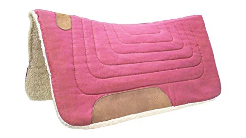 Tahoe Tack Konturenschnitt Leinwand Sattel Pad 81,3x 86,4cm Pink -