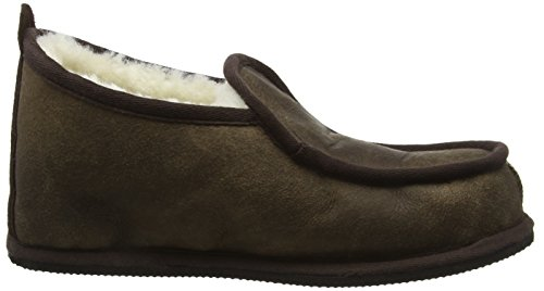 Shepherd Arne, Chaussons montants homme - Oiled Cognac