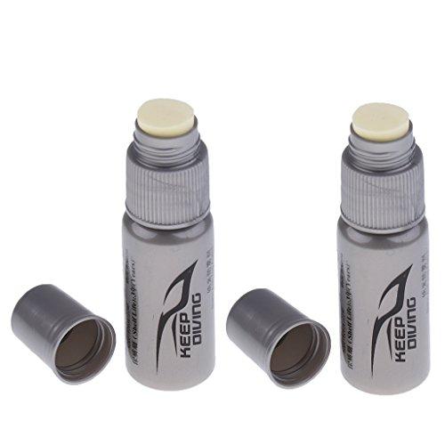 Unbekannt Sharplace 2er Set Premium Anti Fog für Taucherbrille Maske Antibeschlag Tauchermaske Schwimmbrille Antibeschlagmittel
