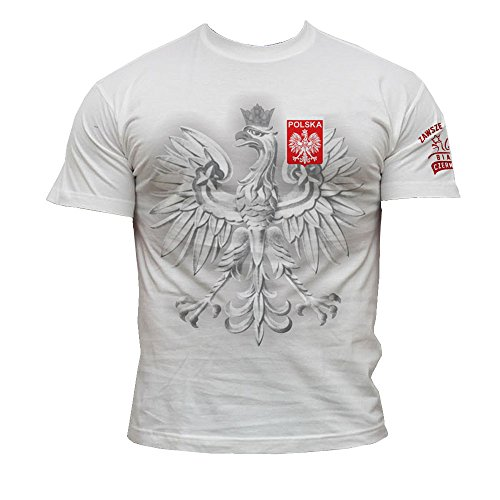 Quaint Point Polska Polen Trikot Herren T-Shirt KP10 (L)