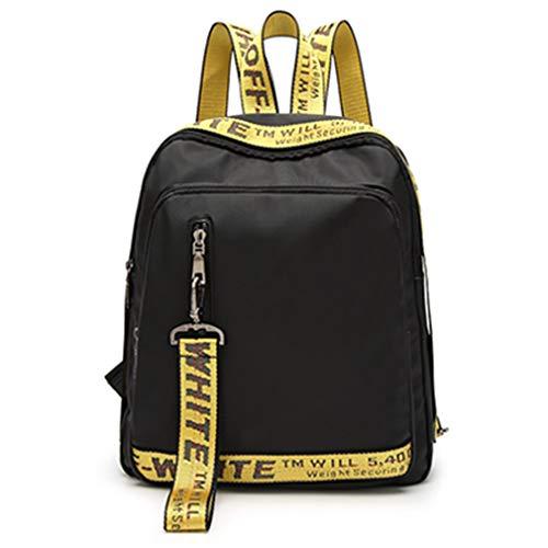 ba88639960 Usato, Sacchetto di scuola zaino in pelle PU donna yellow usato Spedito  ovunque in Italia