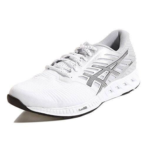 Asics FUZE X Laufschuhe Herren white-black-silver