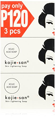 Kojie San Triple Pack Skin Lightening Soaps (3 x 100g) by Kojie San