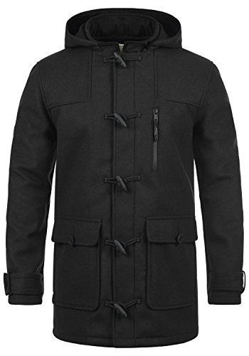 REDEFINED REBEL Mozart - Abrigo Chaqueta para Hombre, tamaño:XXL, color:Black