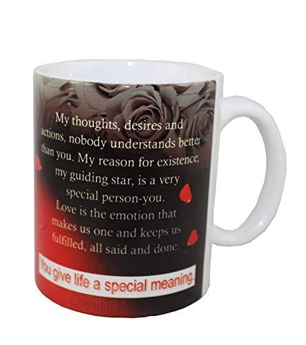 Odishabazaar Valentinstag Kaffeetasse lustig Naughty Gag Geschenk für Valentinstag, Ehefrau, Ehemann, Freund, Freundin, Beste Freundin, Paare 2.7 x 2.2 inch Gjf (Valentinstag Gag-geschenke)