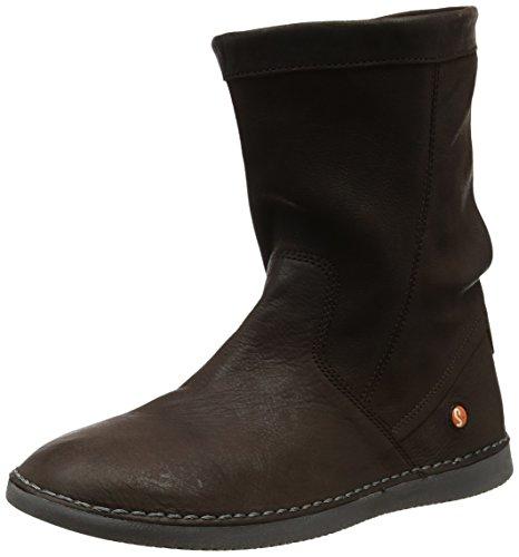 Softinos TIL402SOF Damen Slouch Boots, Braun (Dk Brown 009), 38 EU
