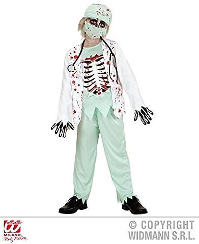 KINDERKOSTÜM - ZOMBIE DOKTOR - Größe 140 cm ( 8-10 Jahre ) (10. Doktor-kostüm-hemd)