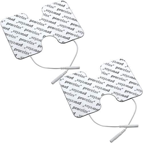 "prorelax Elektroden-Pads für \""prorelax Tens + Ems Duo\"" in Schmetterlingsform"