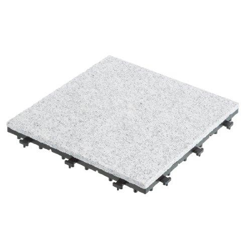 Ultranatura Bodenfliese aus Granit, 4 Stück im Set