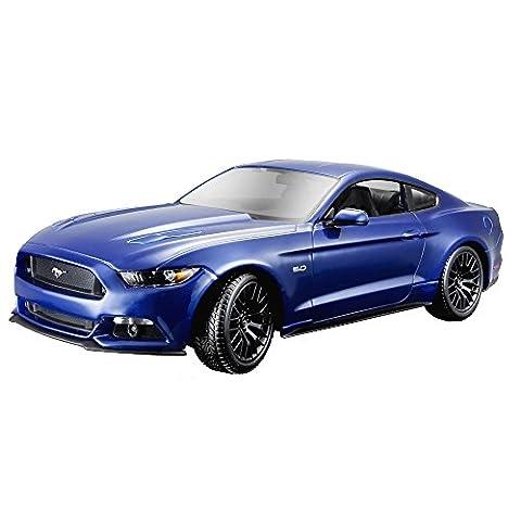 Maisto 531197 - 1:18 Ford Mustang '15 Spielzeug, Farblich sortiert