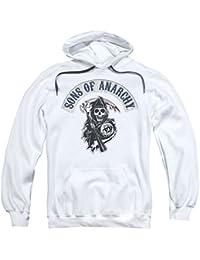 Sons of Anarchy crimen Drama serie Reaper Logo Bloody hoz adultos sudadera con capucha