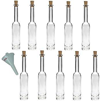 40 leere glasflaschen 50ml vicky lang flaschen 50 ml mit korken glasfl schchen mini flaschen. Black Bedroom Furniture Sets. Home Design Ideas