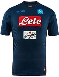 2017/18 SSC Napoli Stadium Third jersey Blue indigo 17/18 Naples Kappa