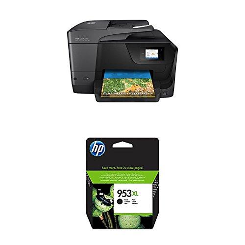 HP OfficeJet Pro 8710 Multifunktionsdrucker schwarz + HP 953XL Schwarz