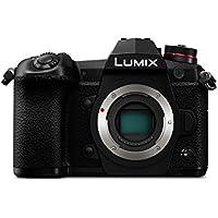 Panasonic DC-G9EG-K Lumix G Systemkamera (20 MP, 4K/6K, Dual I.S., OLED-Sucher, WiFi, Staub und Spritzwasserschutz, schwarz)
