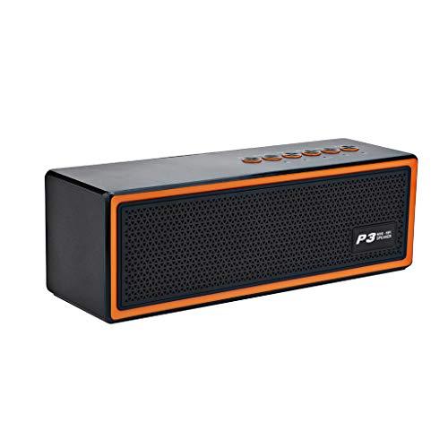 Lautsprecher mit Dual Treiber Bass, portable kabellos Speaker Boombox für Hervorragender Klang & Bass ()