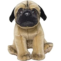 Pug perro Floppy suave peluche de 12pulgadas