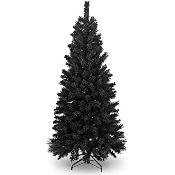 6Ft Black Artificial Christmas Tree by shatchi super sale store